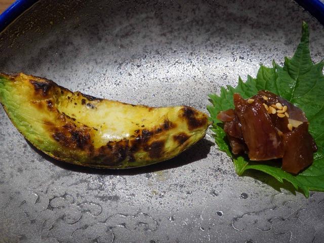 アボカド,鶏刺しのユッケ 2_edit