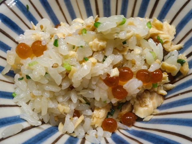 鮭とイクラの炊き込みご飯 3_edit