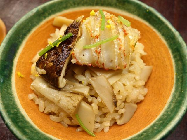 甘鯛と松茸の炊き込み飯 8_edit