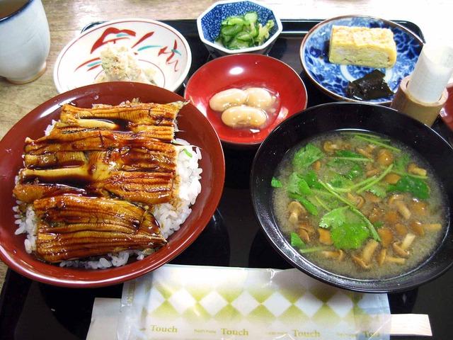 穴子丼セット 1_Jun_2011_edit