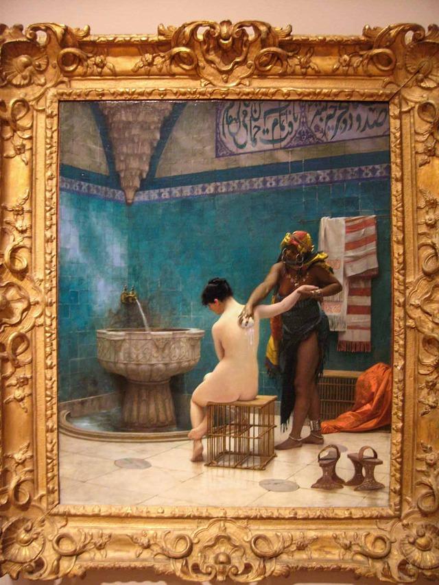 ジャン・レオン・ジェローム『The Bath』 2_edit