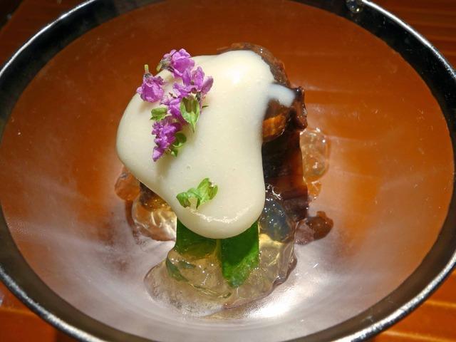 明石のタコのやわらか煮,カボチャの浅漬け,里芋のすり流し 1_edit