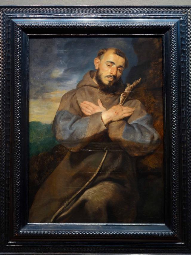 ルーベンス 『Saint Francis in Meditation』 2_edit
