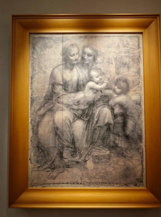 ダ・ヴィンチ『聖アンナと聖母子』 4_edit