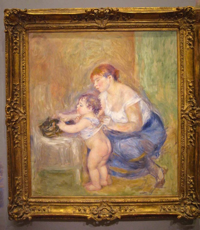 ルノアール 『母と子』 1_edit