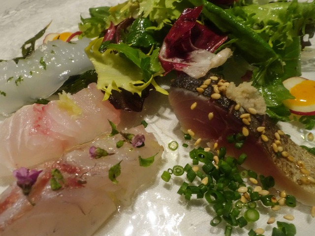 鮮魚のカルパッチョ,サラダ仕立て 5_edit