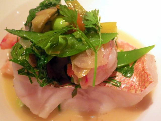 メバル 野菜とハーブのスープ仕立て 4_edit
