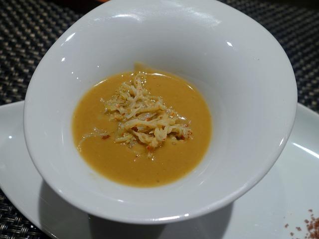 有機野菜とズワイガニとカニ味噌のフレンチバーニャカウダ 7_edit