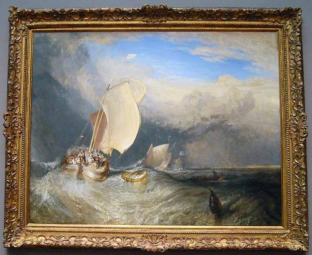 ターナー 『オランダの漁船』_edit