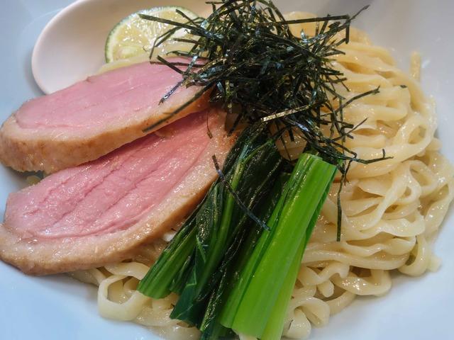 鴨清湯つけ麺 7_edit