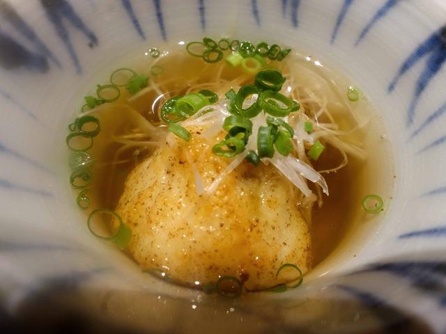 毛ガニ真薯のスープ 3_edit