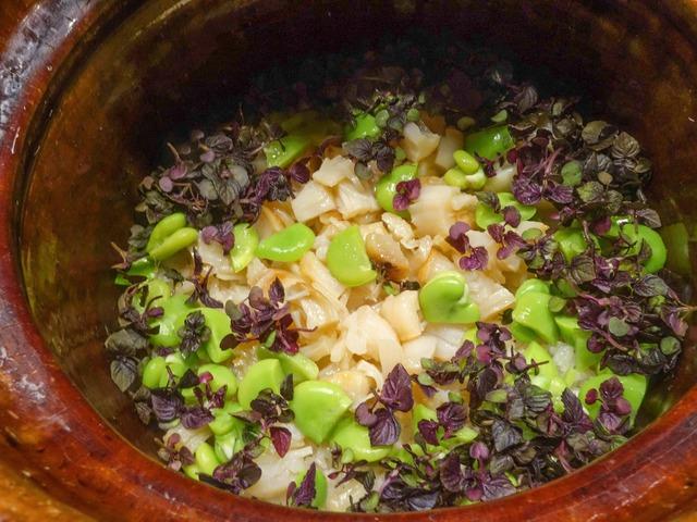 空豆と貝柱の炊き込みご飯 1_edit