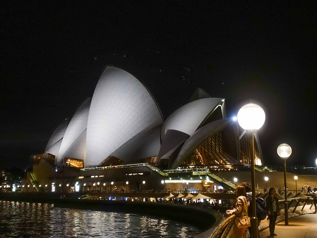 Circular Quay からオペラハウスを望む 2_edit
