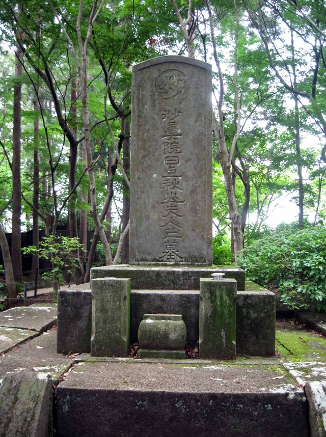 秋山夫人の墓 2_edit