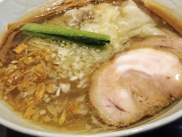 塩らぁ麺,ワンタントッピング 2_edit