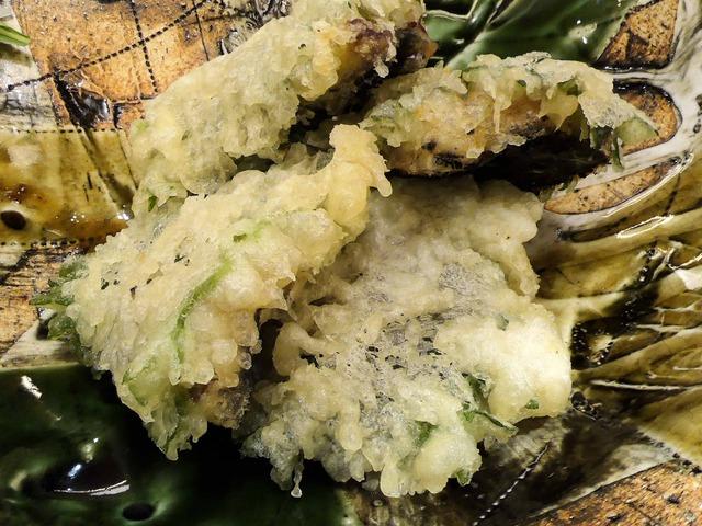 うなぎと梅肉の天ぷら 2_edit