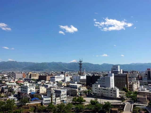 天守台から富士山を望む 2_edit