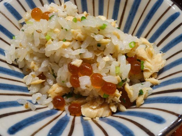 鮭とイクラの炊き込みご飯 1_edit