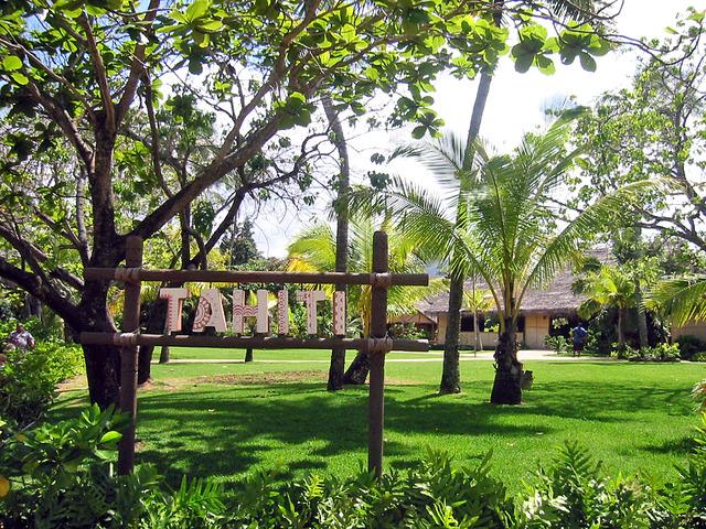 Polynesian Cultural Center・TAHITI_edit