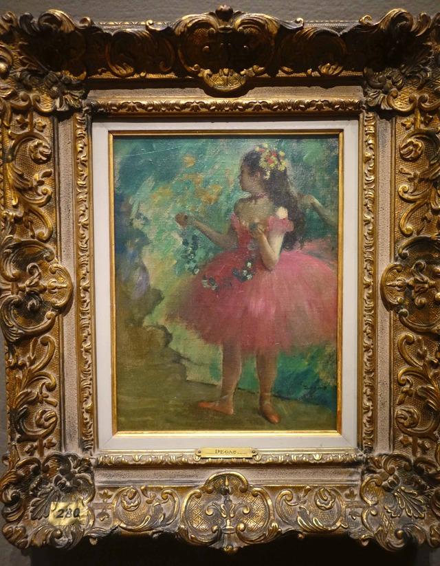 ドガ 『Danseuses rose』 2_edit