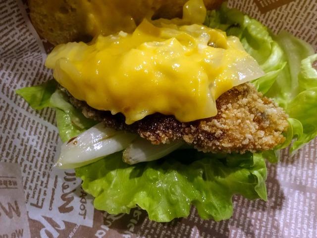 天然ぶりと焼葱のハンバーガー 3_edit