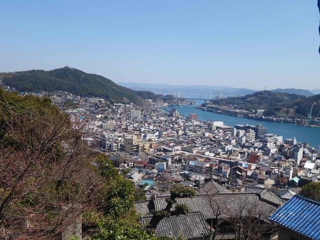 千光寺山から尾道水道を望む 6_edit