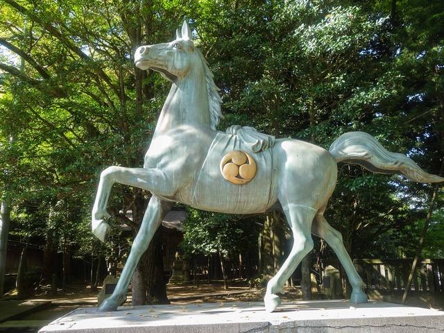 神馬の像 3_edit