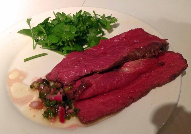 牛肉のロースト,チミチュリソース_edit
