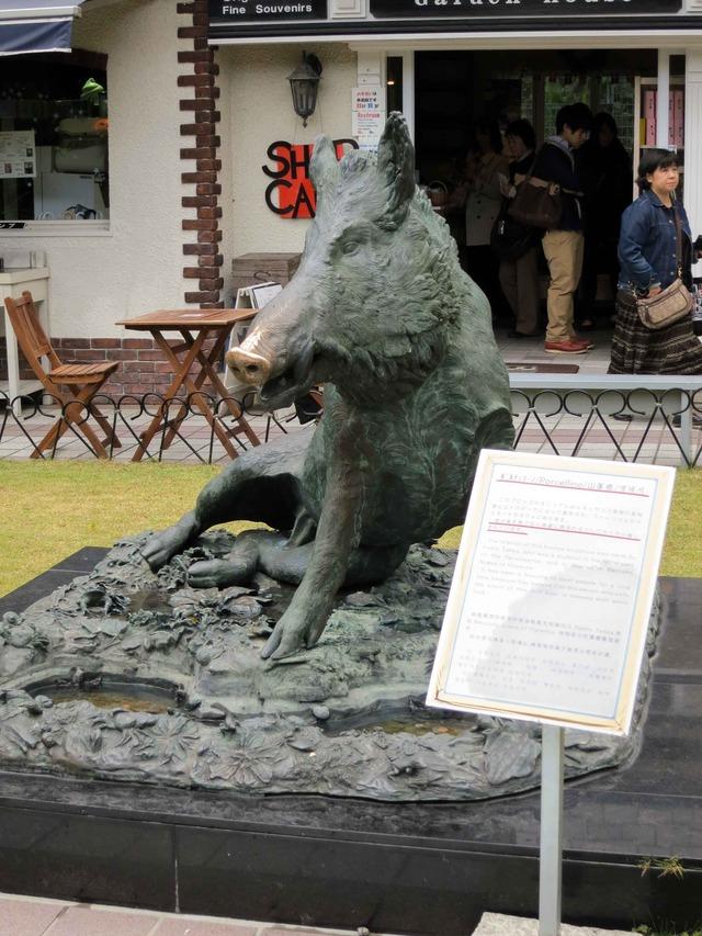 猪の銅像「ポルチェリーノ」 1_edit