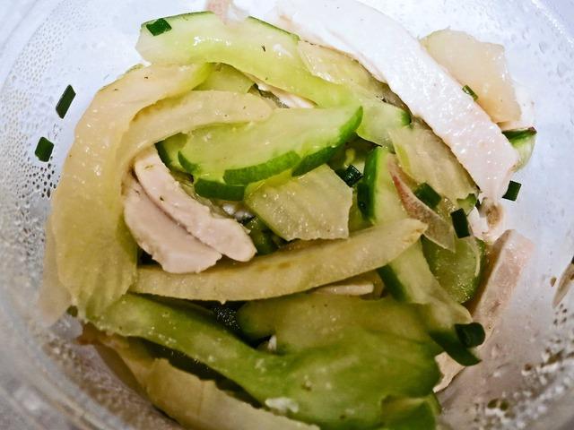 富士美鶏とお野菜のシャッキリサラダ_edit