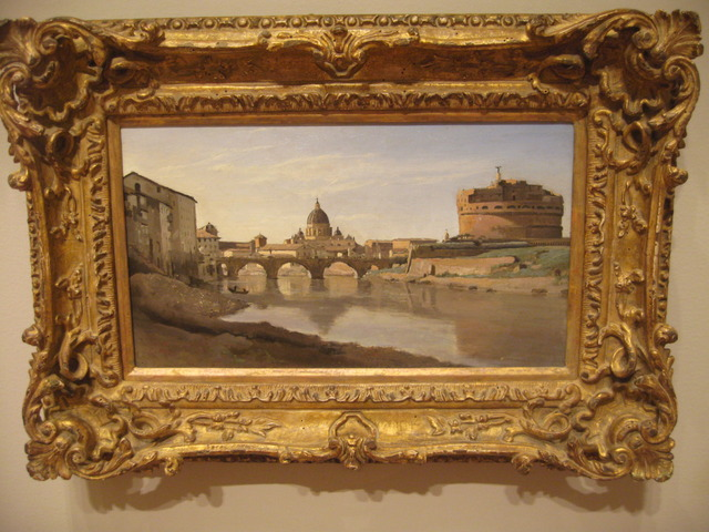 コロー 『ローマの眺め』 - コピー