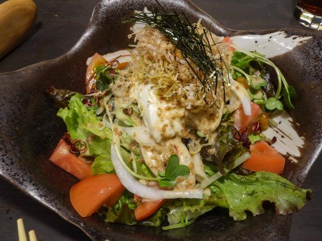 和田島カリカリジャコと手作り豆腐の和風サラダ 2_edit