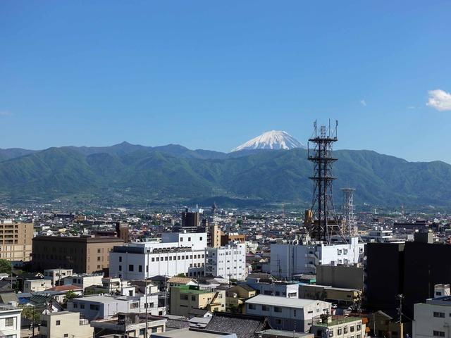 天守台から富士山を望む 5_edit