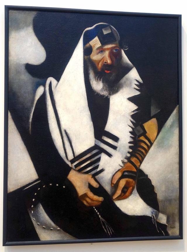 シャガール 『The Praying Jew』_edit