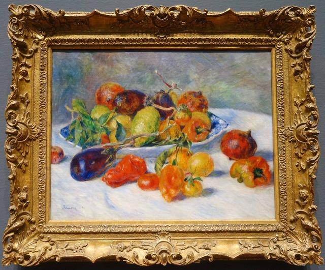ルノワール 『南国の果物』_edit