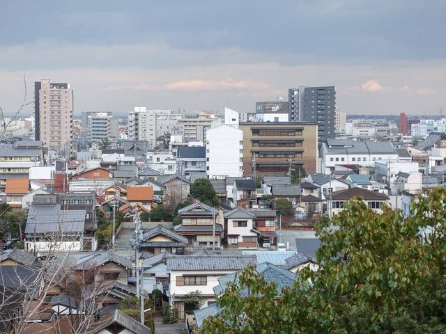 月見櫓跡から市内を望む 5_edit