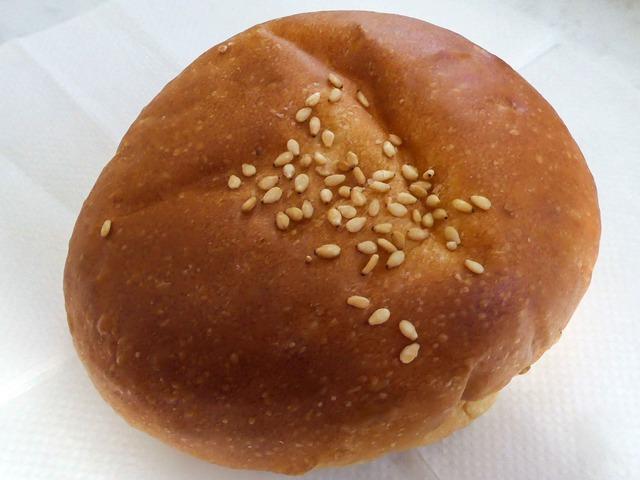 有機小豆のつぶあんパン 1_edit