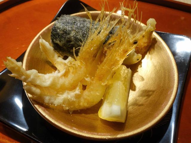 白エビと白魚の天ぷら 1_edit