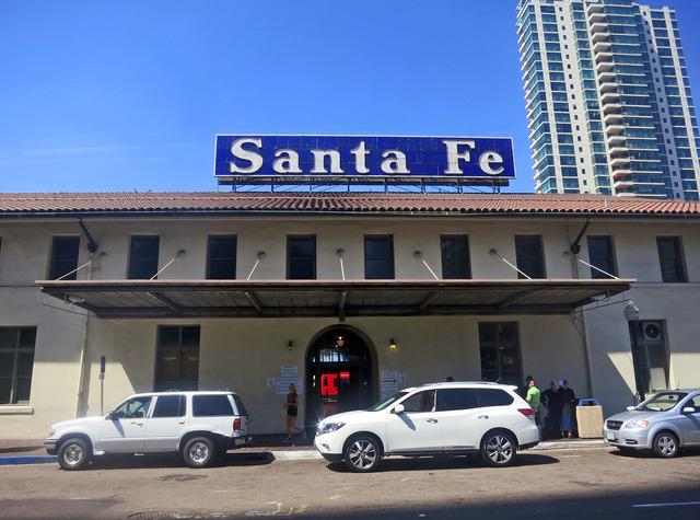 アムトラック Santa Fe 駅 1_edit