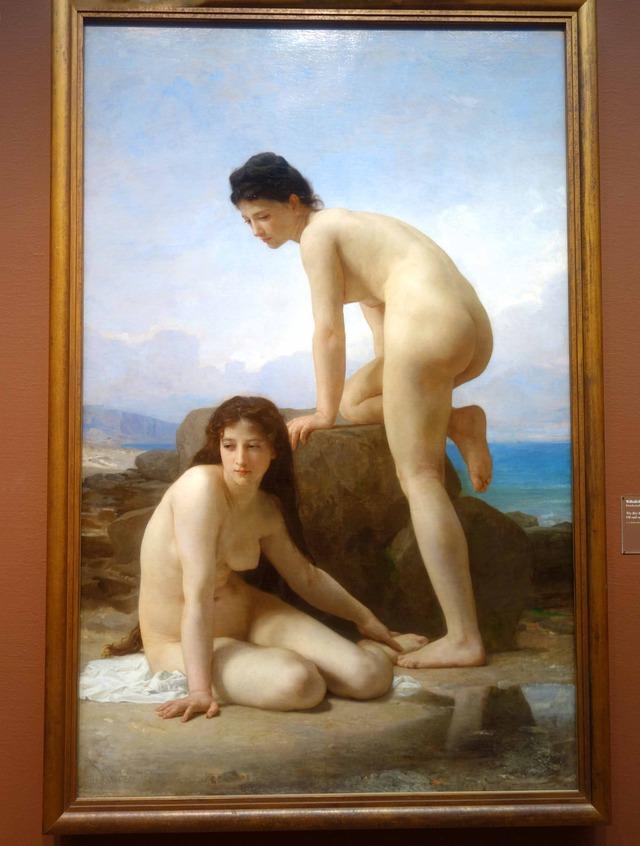 William-Adolphe Bouguereau 『The Bathers』 2_edit