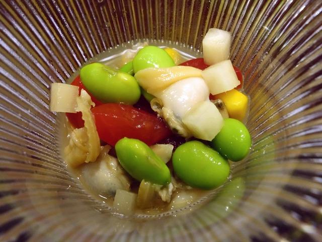 アサリと夏野菜のおひたし 2_edit 2