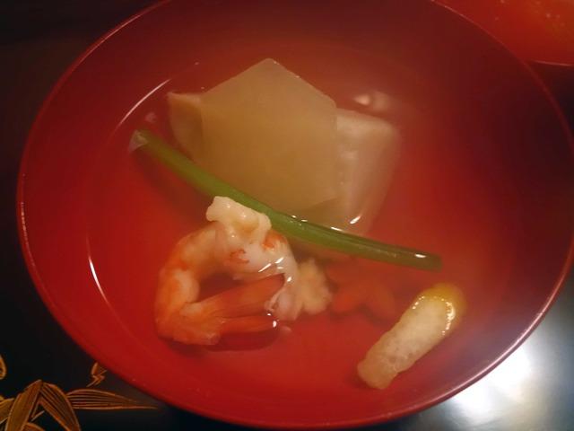 海老芋と車海老のお椀 2_edit