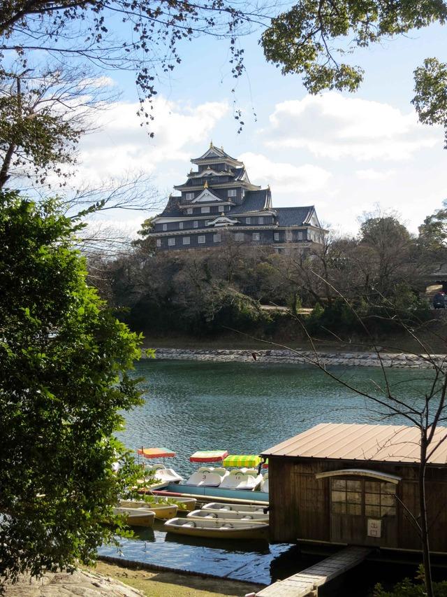 後楽園から見た岡山城 2_edit