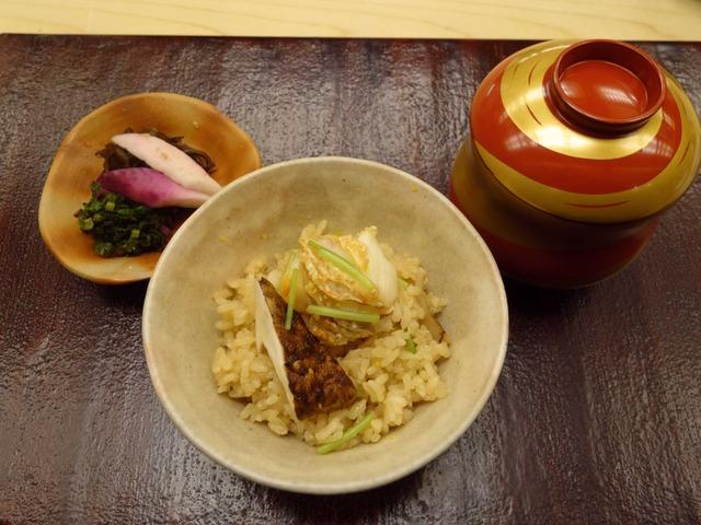 甘鯛と松茸の炊き込み飯 3_edit