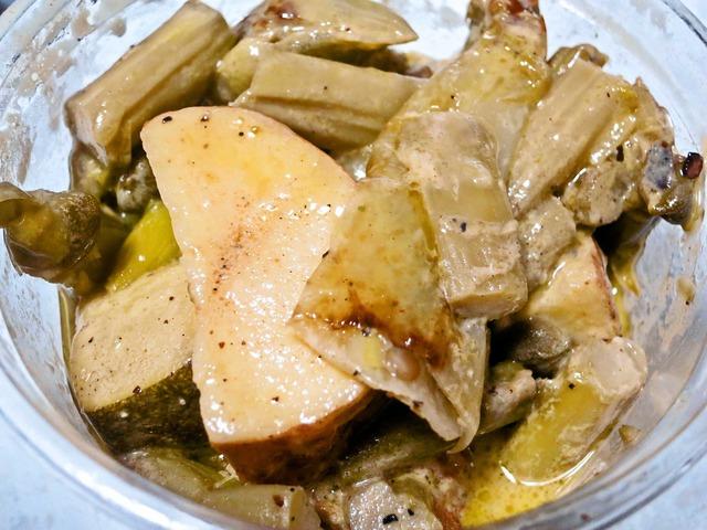 アスパラと季節野菜の蜂蜜マスタードサラダ 1_edit