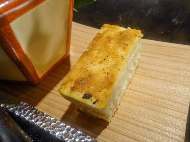 甘味(金柑のアイス,酒粕のチーズケーキ) 5_edit