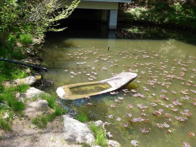 常楽寺美術館前の池 2_edit