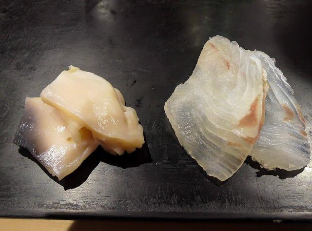 ホッキ貝とヒラメ 2_edit
