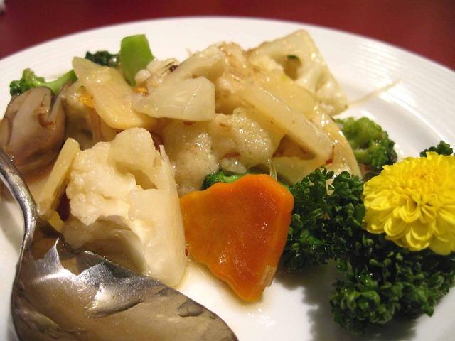 フカヒレと季節の彩り野菜炒め 2_edit