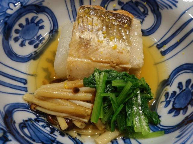 煮穴子,聖護院かぶ,海老芋,壬生菜,山エノキ 2_edit